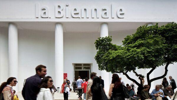 Венецианская арт-биеннале, архивное фото