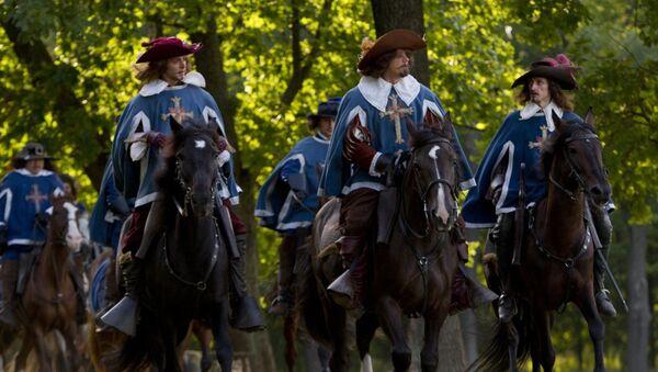 Кадр из фильма Три мушкетера