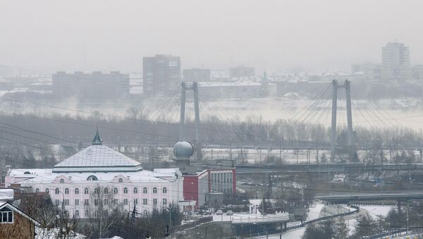 Красноярск. Архивное фото