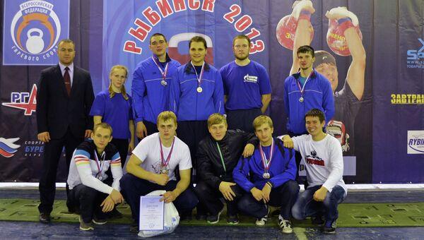 Команда по гиревому спорту Томского политехнического университета, событийное фото
