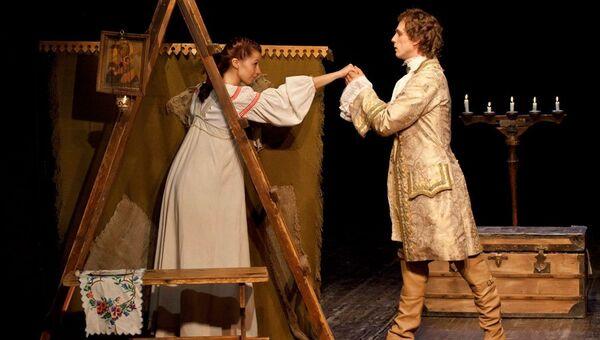 Сцена из спектакля Бедная Лиза-Мюзикл