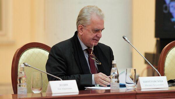 Директор Эрмитажа Михаил Пиотровский. Архивное фото