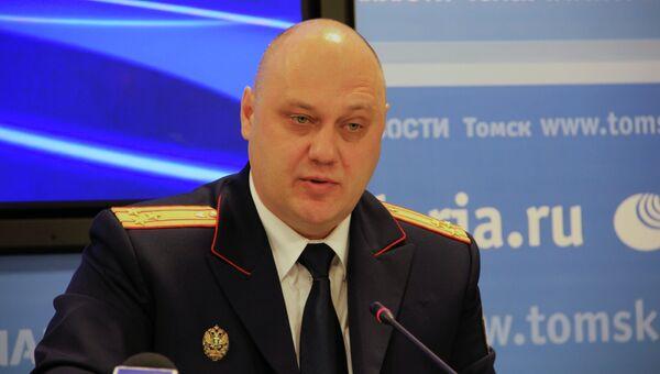 Замруководителя СУ СК РФ по Томской области Андрей Гусев, архивное фото