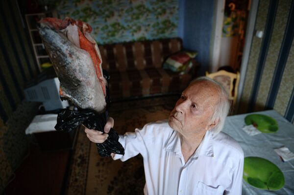 Сибирский долгожитель готовится к Эстафете Олимпийского огня
