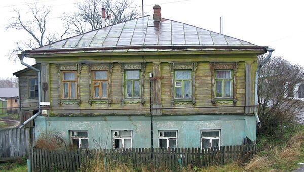 Ветхий дом в Суздале