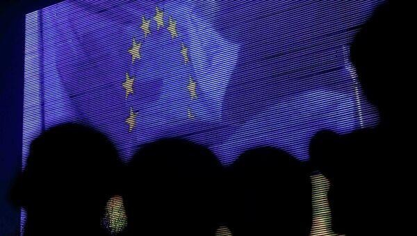 Протестующие во время митинга в поддержку евроинтеграции, Киев