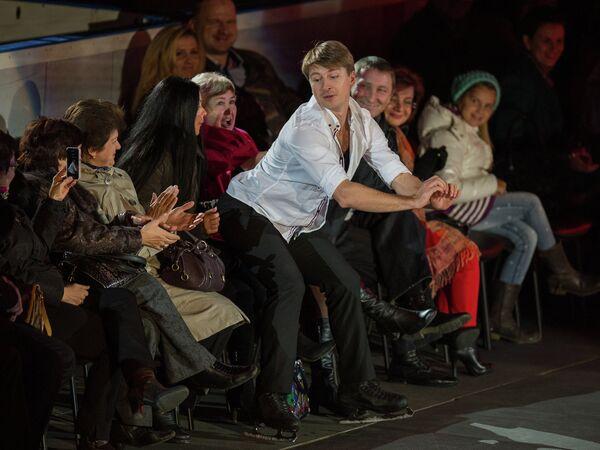 Олимпийский чемпион, чемпион мира, заслуженный мастер спорта России фигурист Алексей Ягудин