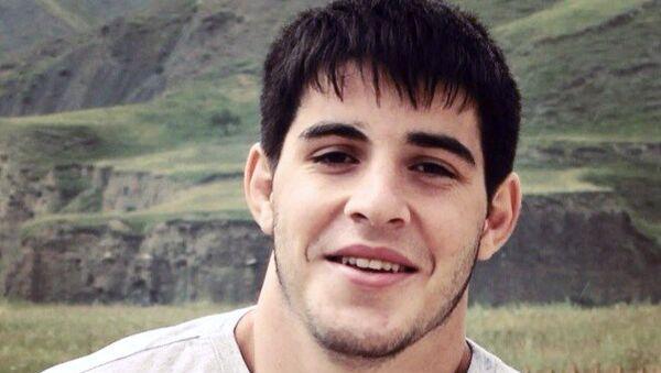 Саид Капиев, студент Новосибирского государственного медуниверситета