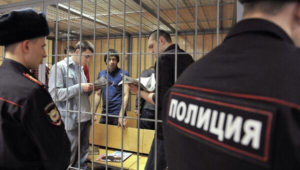 Заседание суда по делу обвиняемых в беспорядках на Болотной площади. Архивное фото
