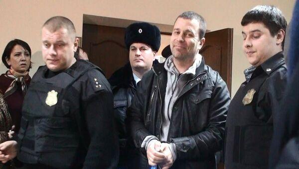 Ростовский блогер Сергей Резник, фото с места события