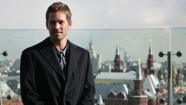 Голливудский актер Пол Уокер в Москве