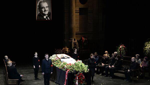 Церемония прощания с актером Юрием Яковлевым, фото с места события