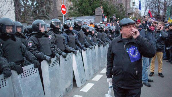 Акции сторонников евроинтеграции Украины в Киеве. Архивное фото