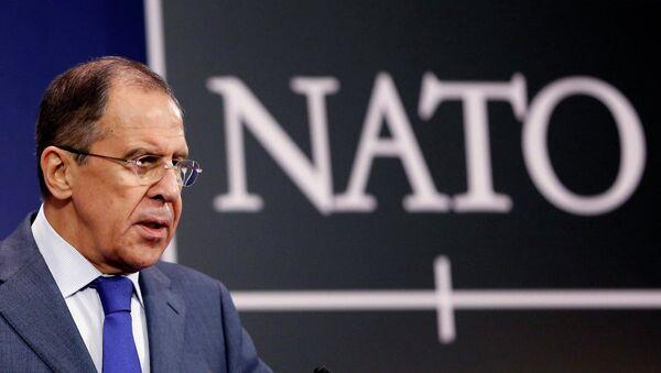 Сергей Лавров на заседании Совета Россия-НАТО в Брюсселе