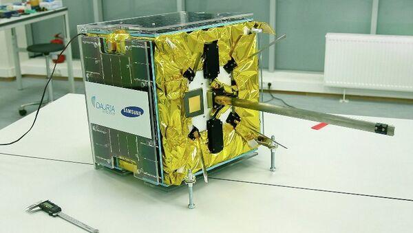 Спутник DX-1, созданный компанией Даурия Аэроспейс. Архивное фото