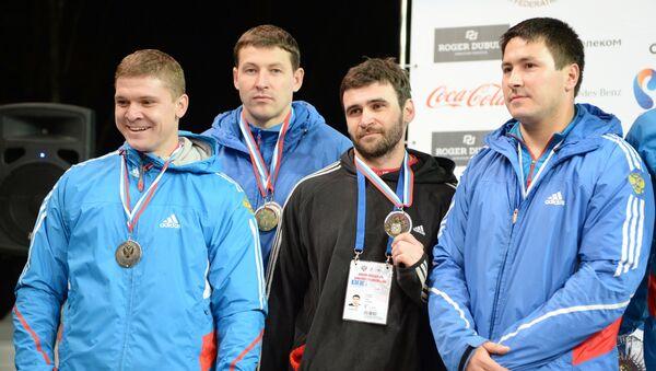 Экипаж Александра Касьянова, Алексея Пушкарева, Филиппа Егорова и Максима Белугина