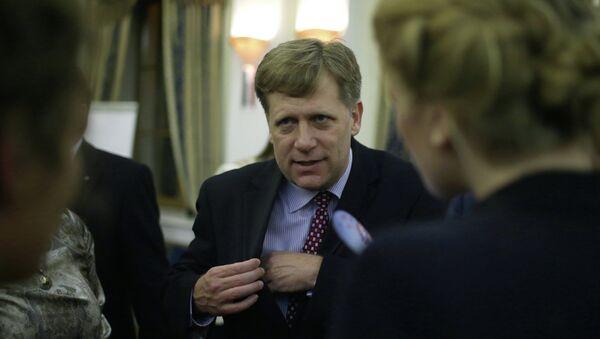 Посол США в России Майкл Макфол, архивное фото
