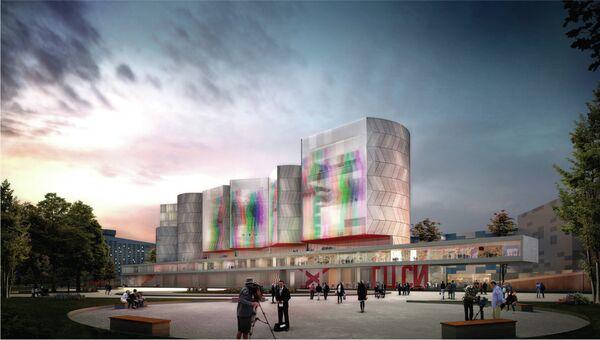 Проект нового здания Государственного центра современного искусства от Nieto Sobejano Arquitectos