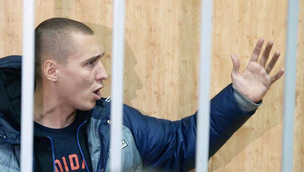 Заседание суда по делу Романа Чумакова