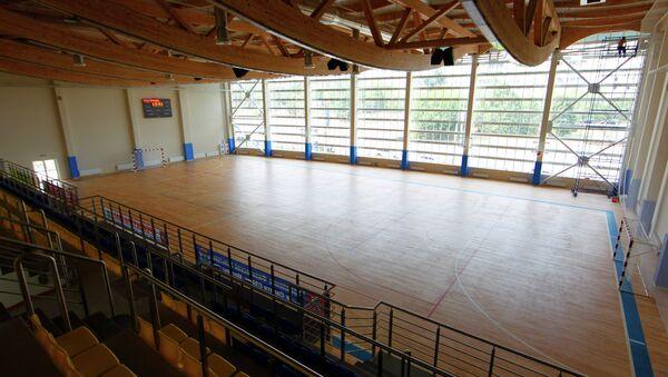 Универсальный спортивный зал. Архивное фото.