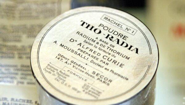 Радиоактивная косметика Tho-Radia, архивное фото