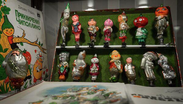 Выставка советских елочных игрушек и новогодних украшений в доме-музее Сухановых во Владивостоке. Фото с места события