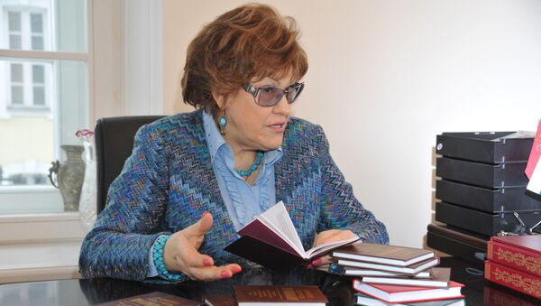 Президент Российской академии образования (РАО) Людмила Вербицкая