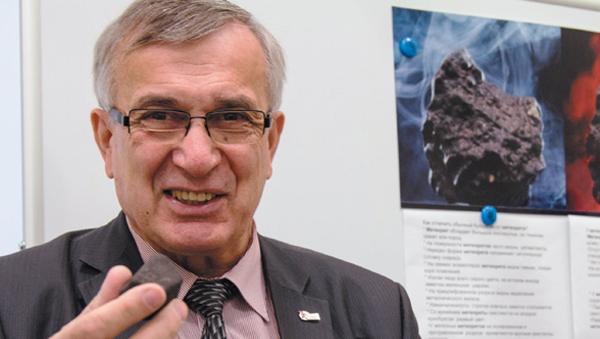 Российский астроном Виктор Гроховский, архивное фото