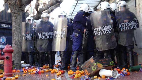 Митинг фермеров в Афинах. Архивное фото