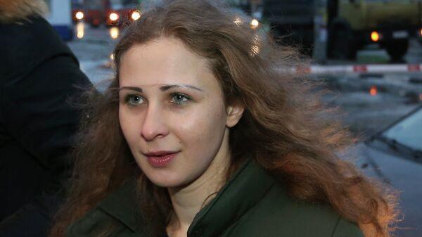 Участница группы Pussy Riot Мария Алехина