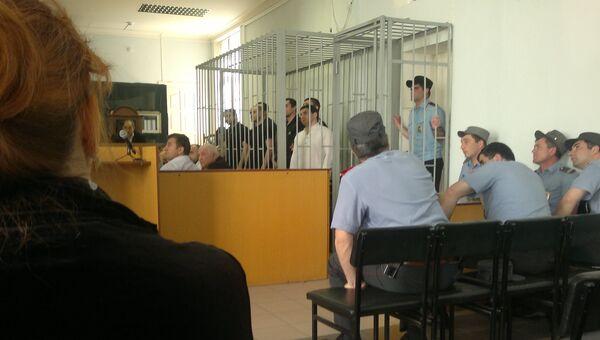 В Верховном суде Дагестана идет процесс 11 боевиков, в переговорах с которыми участвовала Севиль