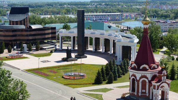 Центр города Саранска. Архивное фото