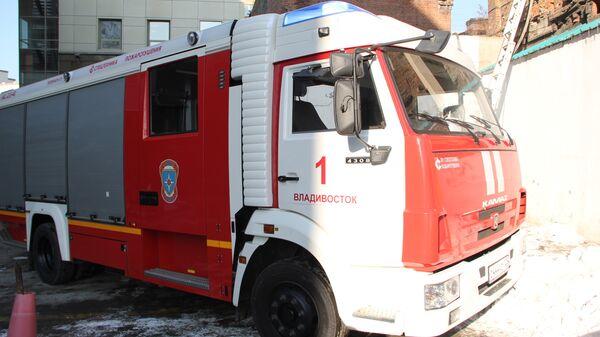 Пожар во Владивостоке, архивное фото