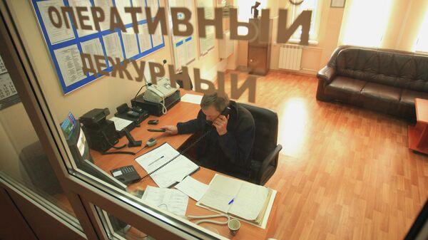 Работа оперативного дежурного. Архивное фото