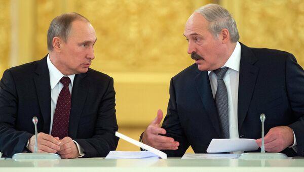 Заседание Высшего Государственного Совета Союзного государства, фото с места события
