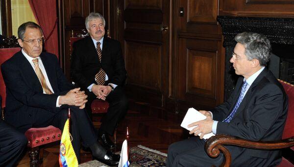 Экс-президент Колумбии Альваро Урибе. Архивное фото