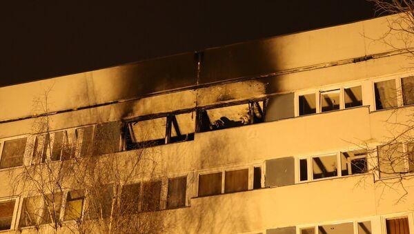 Взрыв в жилом доме в Санкт-Петербурге. Фото с места событий