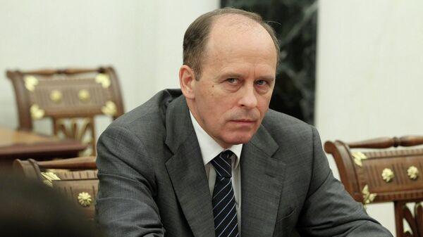 Директор Федеральной службы безопасности (ФСБ) РФ Александр Бортников. Архивное фото