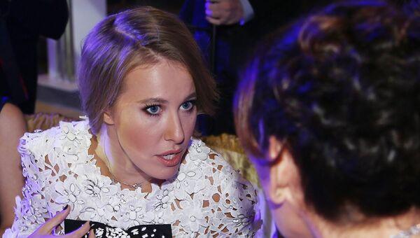 Телеведущая, главный редактор журнала SNC Ксения Собчак