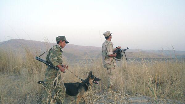 На границе с Афганистаном. Архивное фото