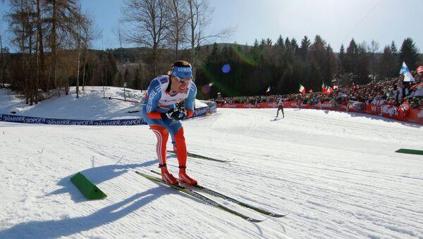 Спортсмен Максим Вылегжанин. Лыжные гонки. Архивное фото.