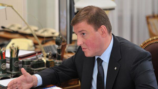 Губернатор Псковской области Андрей Турчак. Архивное фото.