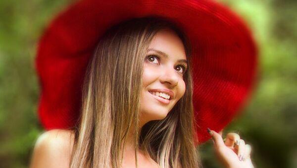 Елена Третьякова, участница конкурса Мисс Россия -2014 из Самары. Архивное фото