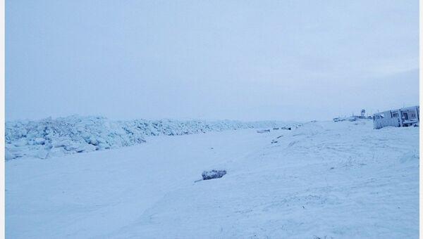 Ледовый массив в Энурмино, Чукотский АО, архивное фото