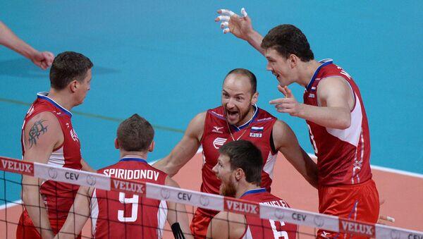 Волейболисты сборной России. Архивное фото