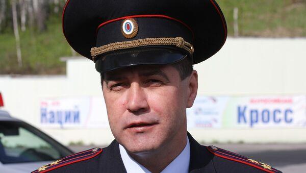 Глава ГИБДД Новосибирской области Сергей Штельмах. Архивное фото