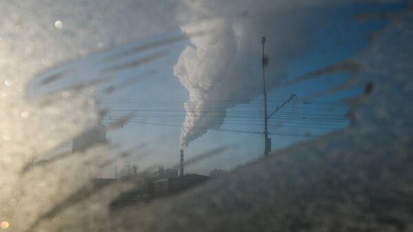 Морозы в России. Архивное фото