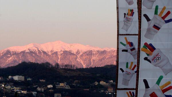 Олимпийские игры в Сочи. Архивное фото.