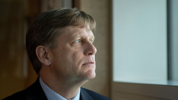Бывший посол США в России Майкл Макфол, архивное фото