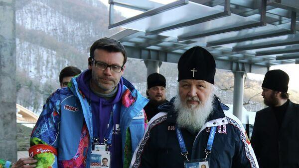 Патриарх Кирилл посетил олимпийские объекты горного кластера